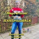 Cat-Coxx – Krasser public jeans pisswalk in boots. MDH.