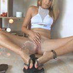 Miss Anja – Peeing On My Flip-Flops