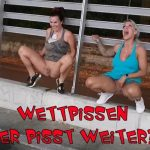 Aische-pervers – Wettpissen with FitXXXSandy! Who continues to piss?