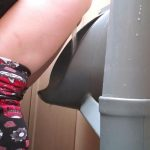 Nery Faery Using A Urinal Like A Regular Toilet.