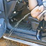 Dirty Milf Norway – MILF Dildo in Car and Peeing in Public.