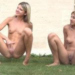Sarah Cute And Gina Gerson – Photoshoot. Pissing scene. ALS Angels.